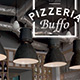 Roll up Pizzeria Buffo - 100 x 200 strong